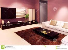 Purple Living Room Purple Living Room Stock Photography Image 13740262