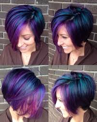 Purple Hair Style beautiful galaxy hair i had so much fun doing this colorful 2104 by wearticles.com