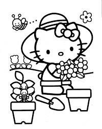 Your kiddo can color hello kitty while learning the uppercase letters of the alphabet. 100 Hello Kitty Coloring Pages Ideas Hello Kitty Coloring Kitty Coloring Hello Kitty