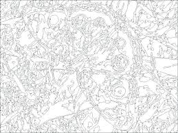 Free Color By Number Pages For Adults Mycoloring