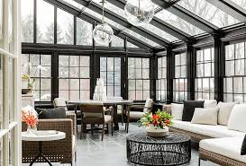 View in gallery Cool conservatory that doubles as a lovely living space  [Design: Terrat Elms Interior Design