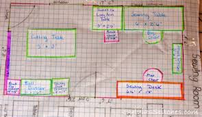 Craft Room Layout Draw Out Your Sewing Room  Quilt U0026 Sewing Sewing Room Layouts And Designs