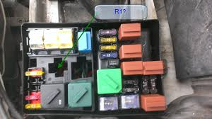 99 cougar v6 fuse box engine compartment questions here is a pic of the fuse box