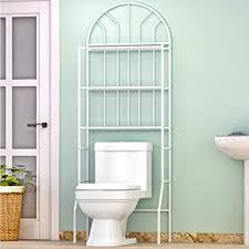 Handtuchspeicher über Der Toilette Amazon Regal über Die Toilette Badezimmer Space Saver Handtuch Speicher Rack Organizer Weiß