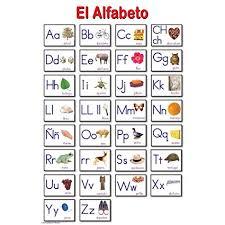 Amazon Com Ring Cards Spanish Alphabet Educational