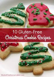 10 gluten free cookie recipes