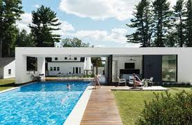 pool house. Contemporary Pool Image Credit Dwell On Pool House H