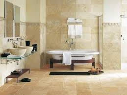 tile wall contemporary bathroom