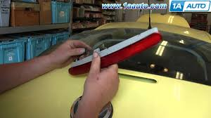 how to install replace 3rd third brake light 1998 10 vw beetle 2000 Beetle Tail Light Wiring how to install replace 3rd third brake light 1998 10 vw beetle youtube Beetle Tail Light Replacement