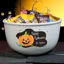 halloween candy bowl ceramic. Fine Candy Personalized Ceramic Halloween Candy And Punch Bowl Intended R