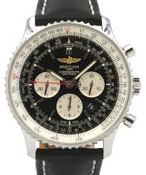 more views breitling navitimer 01 ab012721 chronograph stainless steel leather