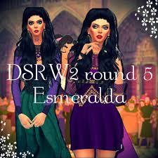 DSRW2 round 5 - Esmeralda | Sims Amino