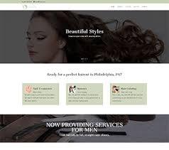Hair Saloon Websites Salon Website Design Hair Salon Web Design