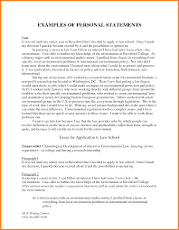 Personal Statement Grad School Samples 7 Grad School Personal Statement Example Registration
