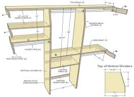 diy built in closet systems image and description