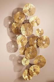 glittering gold sun burst large circles