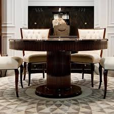 high end dining furniture. Impressive High End Modern Glamour Round Wenge Dining Table Set Juliettes In Tables Furniture .