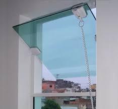 """E mesmo para quem procura a janela de alumínio para quarto , com as folhas fechadas é possível bloquear a passagem de luz e garantir o """"escurinho"""" Janela Basculante Vidro Temperado 8mm 40 X 60 Verde Mercado Livre"""