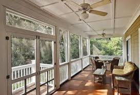 Traditional Porch with Screened porch, Covered porch