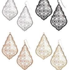Rose Gold Adair Earrings