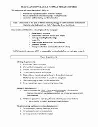 Mla Citation Research Paper Awesome Format Resume Best Lovely