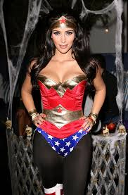 Wonder Woman Hair Style kim kardashian sported a sexy wonder woman costume for her annual 4928 by wearticles.com