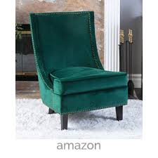 velvet accent chair. Veleet-green-accent-chair Velvet Accent Chair