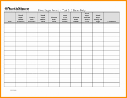 Blood Test Chart Template 008 Template Ideas Blood Sugar Formidable Log Glucose Forms