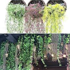 artificial outdoor hanging plants artificial outdoor plant artificial weeping willow ivy vine fake plants outdoor indoor