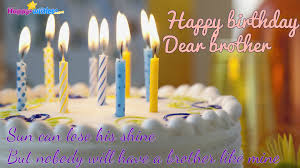 Happy Birthday Brother Cake Images Brithday Cake