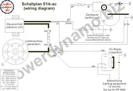 powerdynamo for suzuki sp370 assembly instruction · wiring diagram · wiring diagram of the ac version