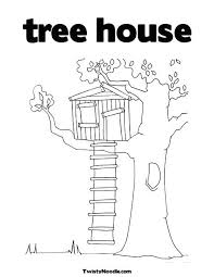 Coloring Pages Magic Tree House Magic Tree House Coloring Page