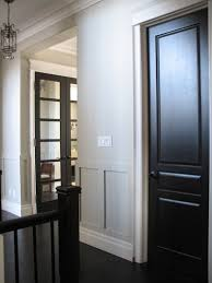 as versatile as jewelry is to the lbd so is hardware style to a black painted interior door so versatile that the idea of painting your interior doors