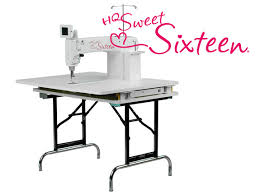 Sylvia's Stitches: Sit-down long-arm Quilting Machines & HQ Handi Quilter 16 Adamdwight.com
