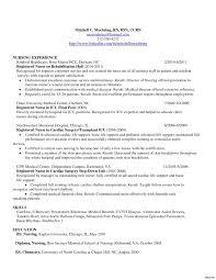 New Grad Rn Resume Examples Nurse Sample Forpnuxury Coveretter