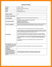 Ideas Of Resume Format Style Cute 7 Indian In Word Collection