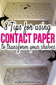 don t waste time applying contact paper for shelves the wrong way head over