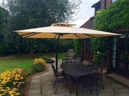 poggesi piazza large garden parasol