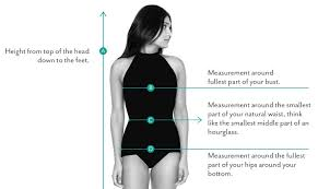 Swimsuit Top Size Chart Seea Swimwear And Clothing Size Chart