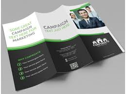 tri fold brochures corporate tri fold brochure template corporate trifold brochure vol
