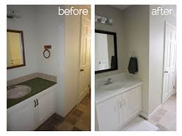 Small Picture Small Bathrooms Before And After Bathroom Remodel Pictures T For Decor