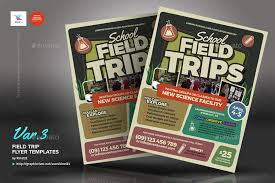School Field Trip Flyer Template Field Trip Flyer Templates Kinzi21 ...