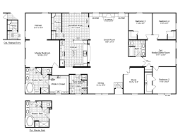 Small One Bedroom Mobile Homes The Evolution Scwd76x3 Home Floor Plan Manufactured And Or