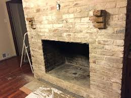 fireplace brick mortar once finished applying allow the brick to dry a bit i waited until fireplace brick mortar