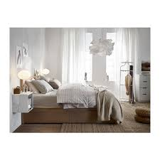 malm high bed frame 2 storage bo ikea the 2 large drawers on casters give