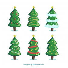 Christmas Tree Vector Free At Getdrawings Com Free For Personal