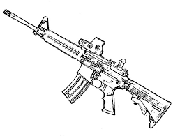 Small Picture Machine gun coloring pages ColoringStar