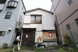 Abandoned Homes Haunt Japanese Neighborhoods Bloomberg
