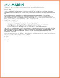 8 Sample Cover Letter Administrative Assistant Sales Intro Letter
