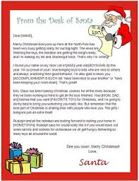 Free Letter From Santa Word Template Letter From Santa Template Word Usable Ms Word